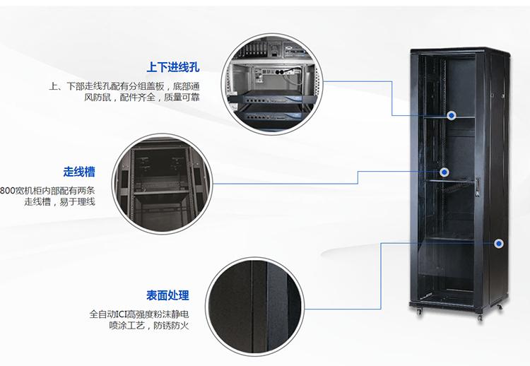 42u标准网络机柜尺寸