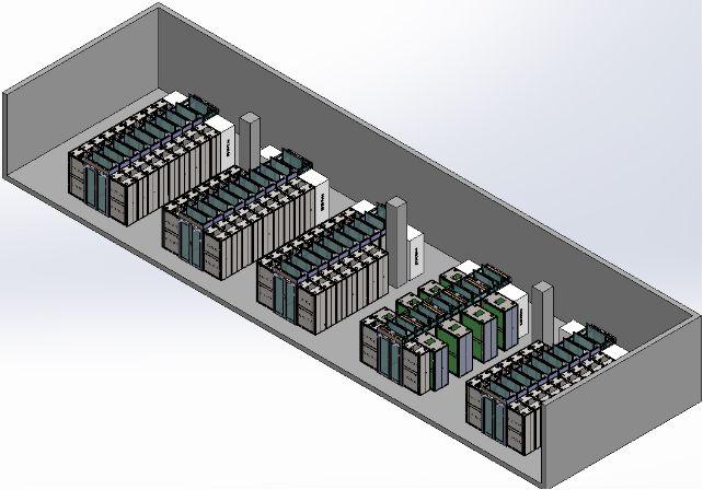 冷通道机柜动环监控效果图