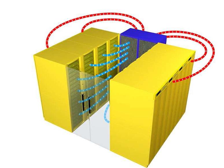 微模块化冷通道机柜