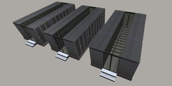 服务器机柜数据机房