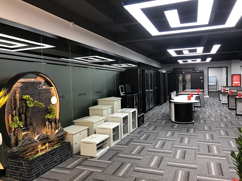 网络机柜展厅